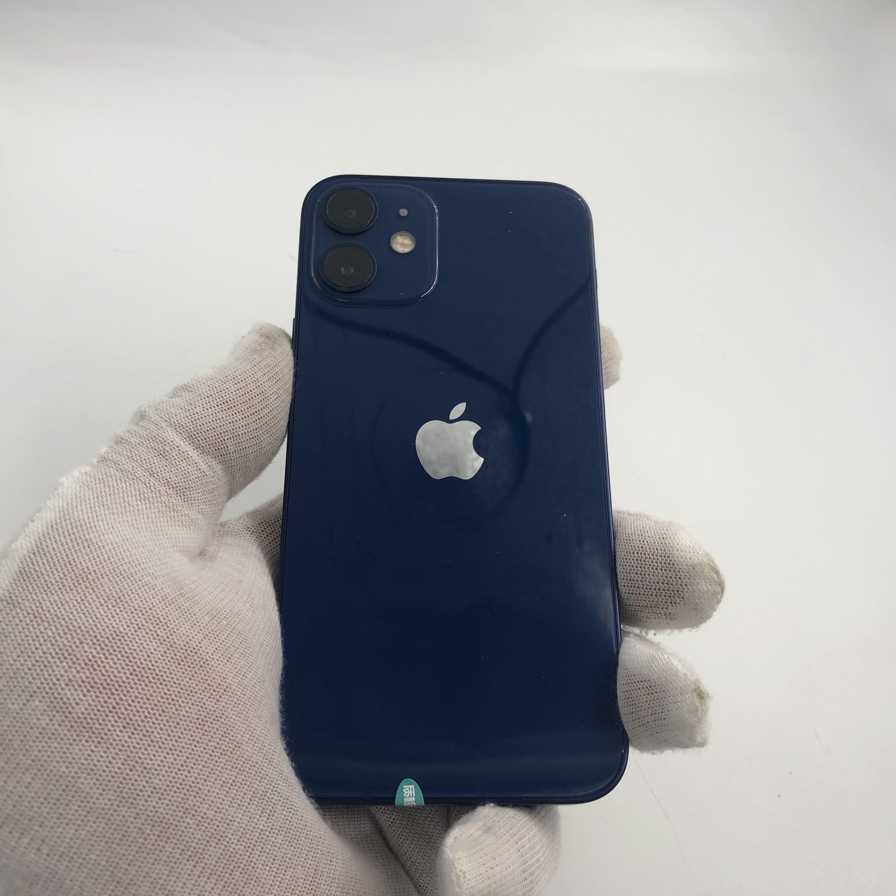 苹果【iPhone 12 mini】5G全网通 蓝色 256G 国行 8成新