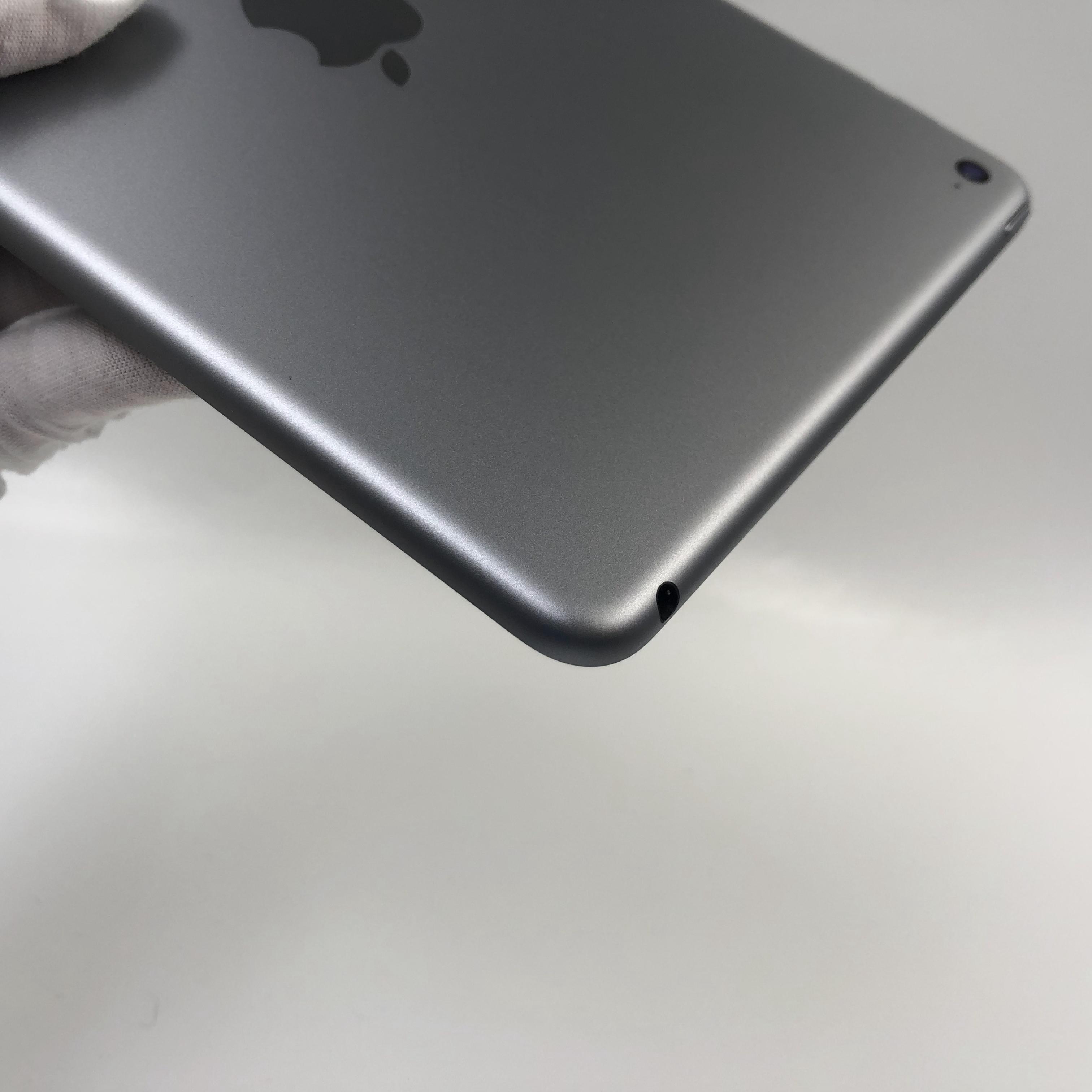 苹果【iPad mini 4】WIFI版 深空灰 128G 国行 95新 真机实拍