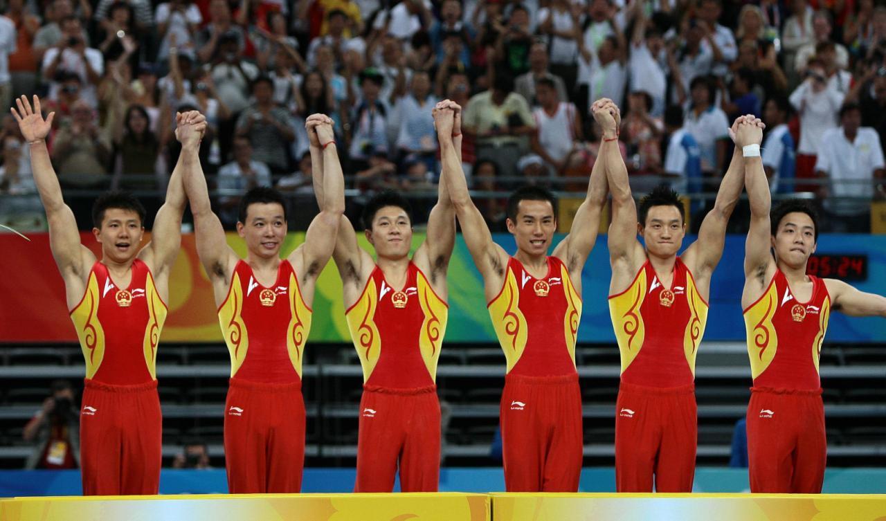 2008奥运会体操杨威_中国男子体操队_360百科