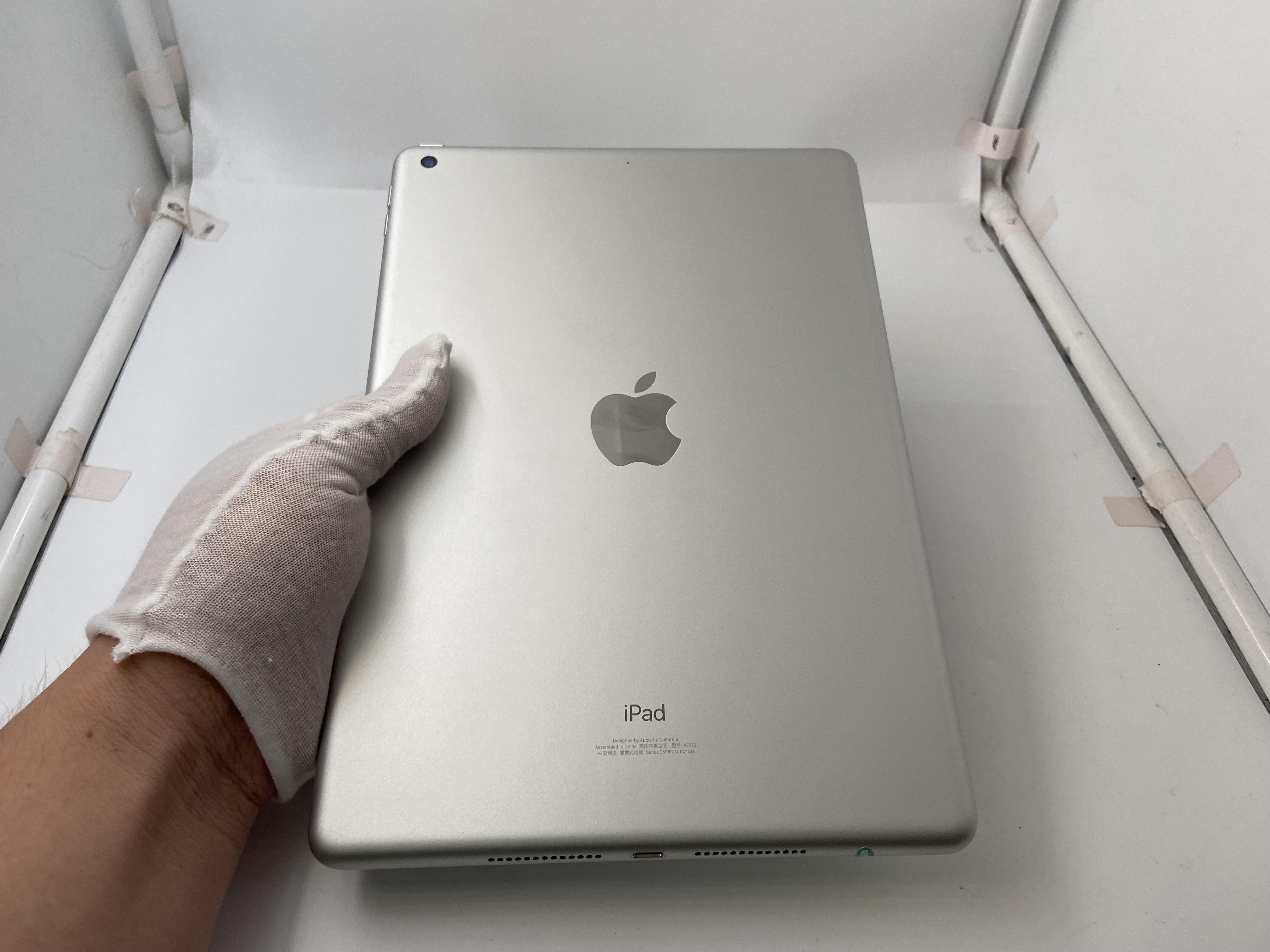 苹果【iPad8 10.2英寸 20款】WIFI版 银色 128G 国行 9成新