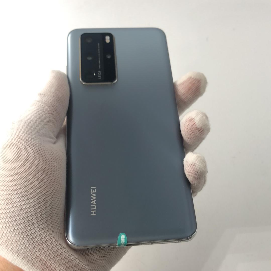 华为【P40 Pro 5G】5G全网通 冰霜银 8G/512G 国行 9成新