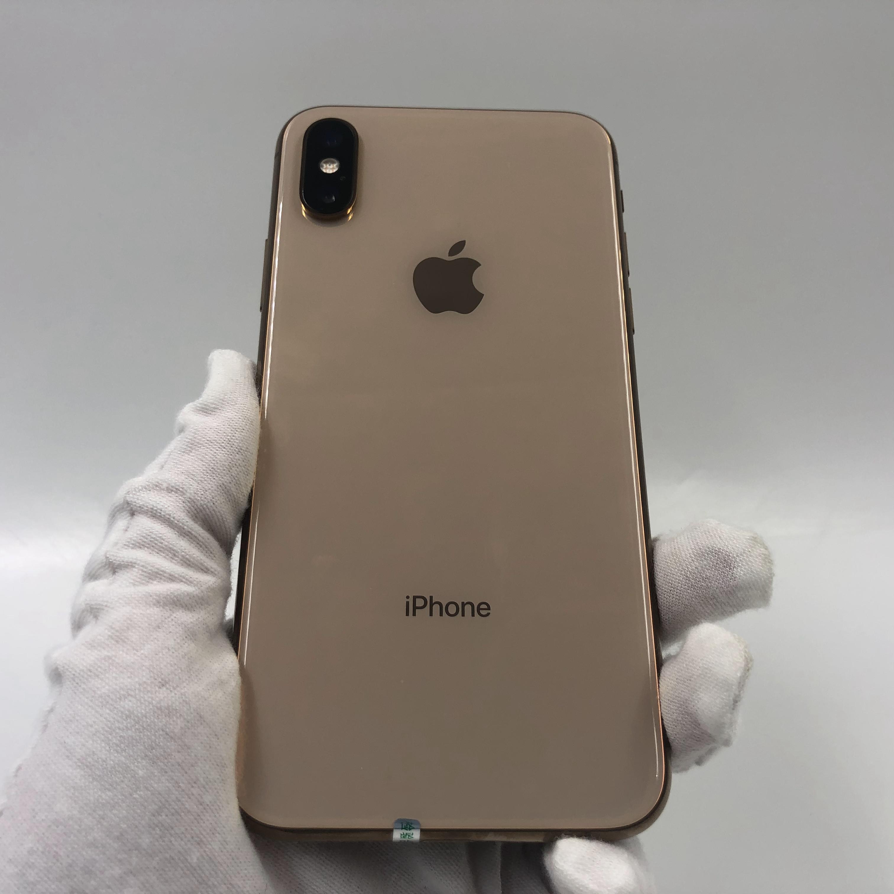 苹果【iPhone Xs】4G全网通 金色 64G 国行 95新 真机实拍
