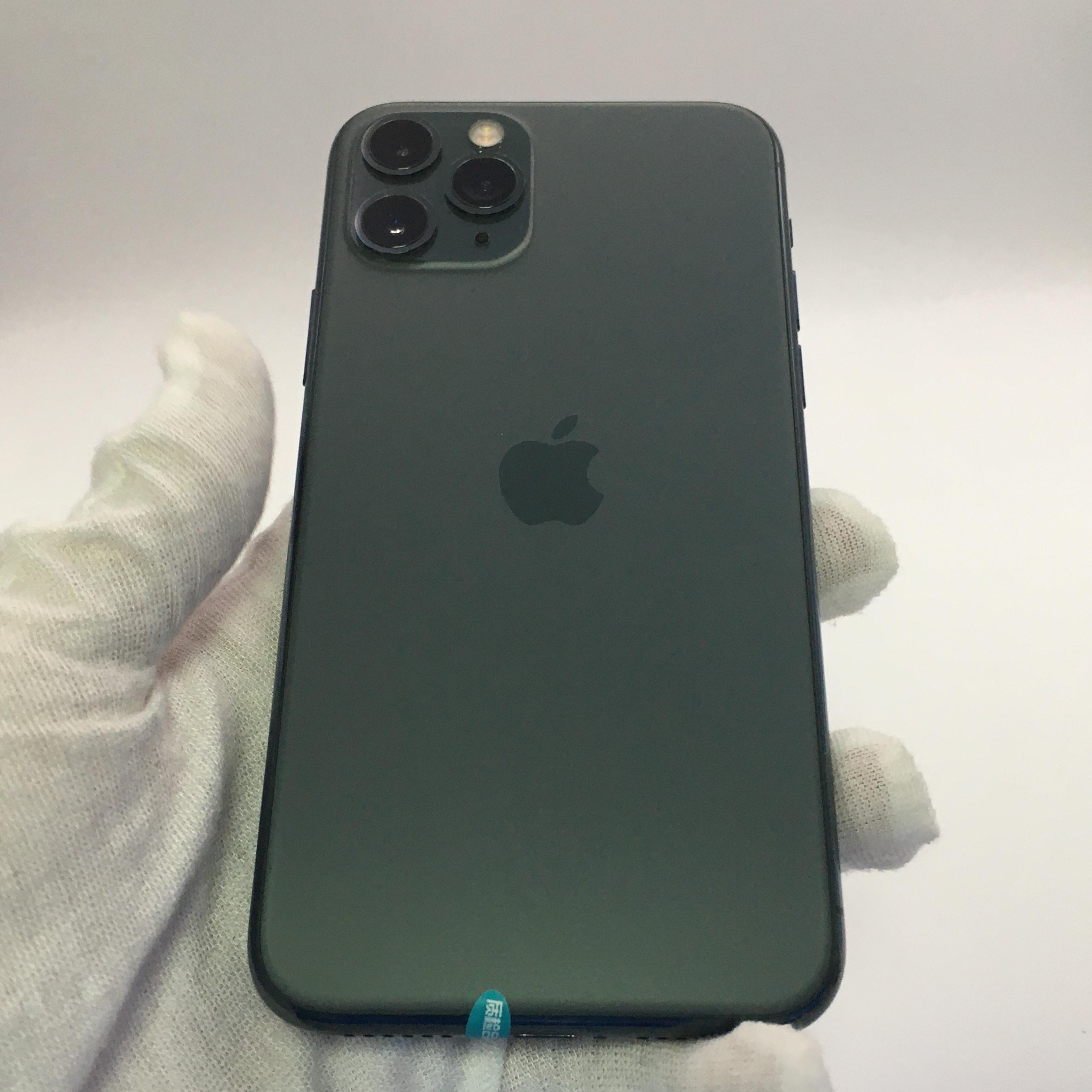 苹果【iPhone 11 Pro】4G全网通 暗夜绿色 256G 国行 8成新 256G真机实拍