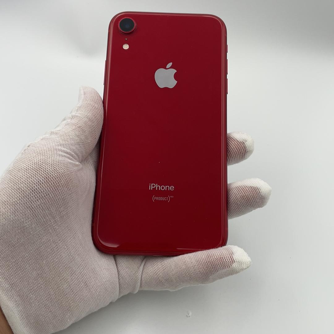 苹果【iPhone XR】全网通 红色 128G 国行 9成新