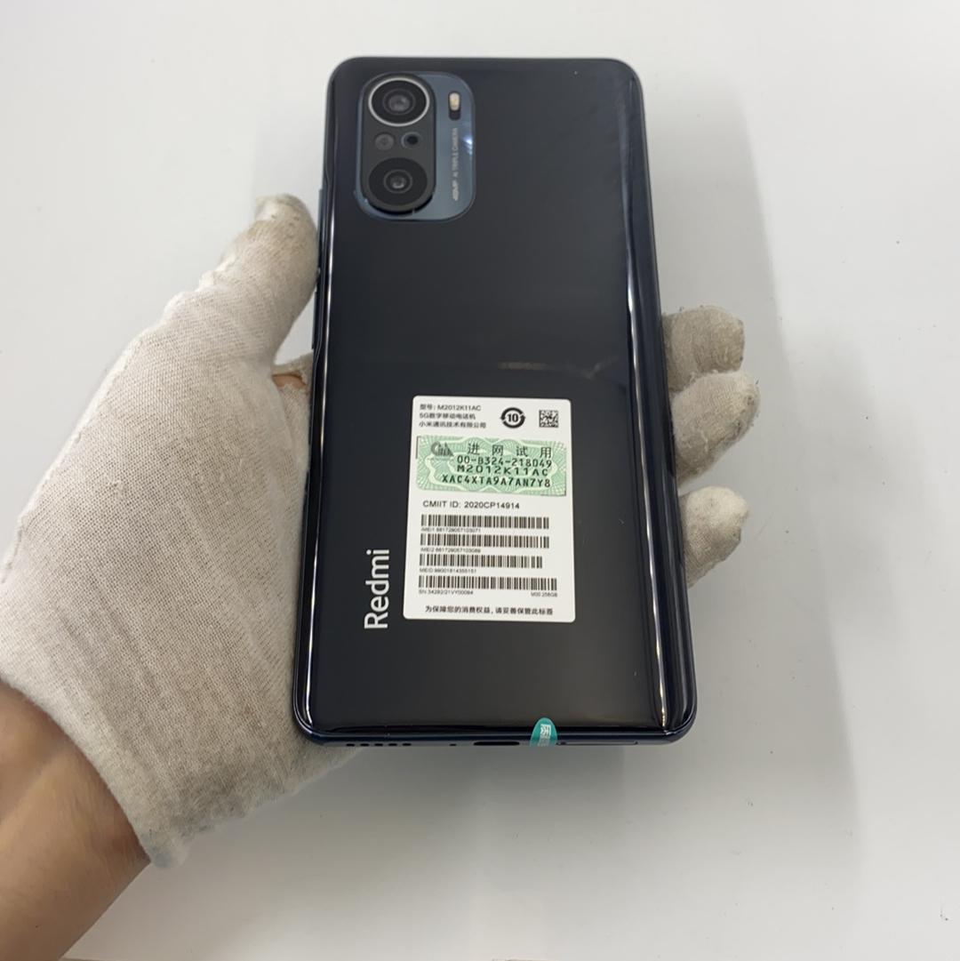 小米【Redmi k40 5G】5G全网通 亮黑色 12G/256G 国行 95新