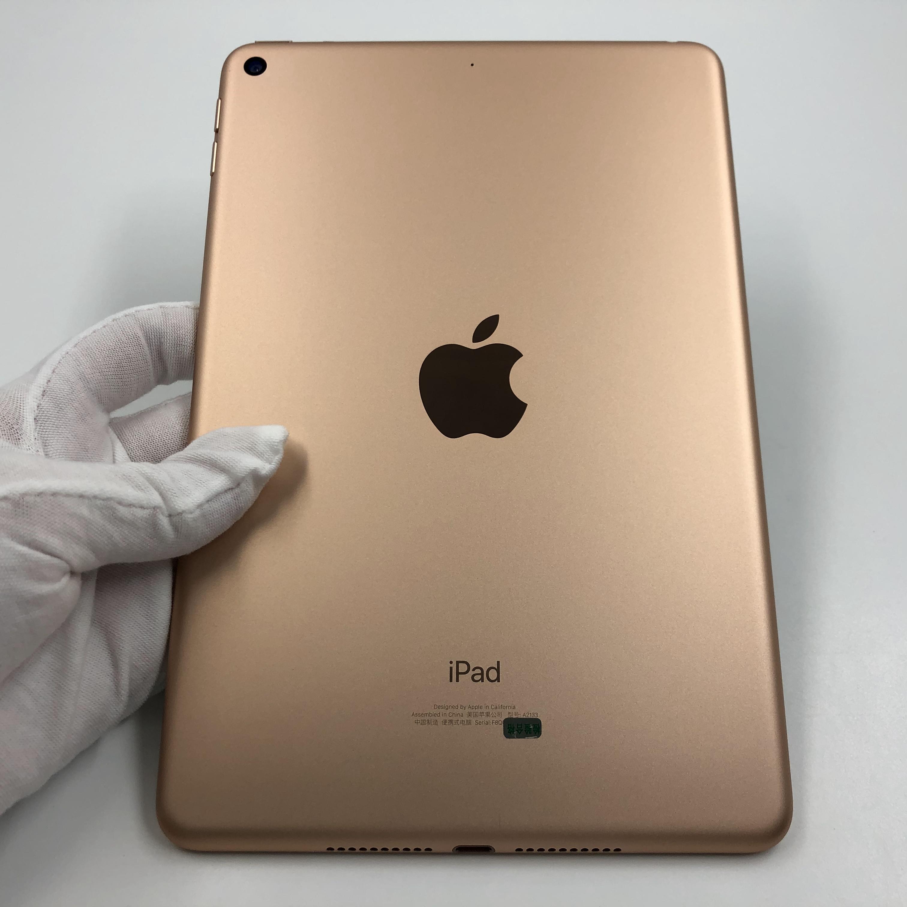 苹果【iPad mini5 7.9英寸 19款】WIFI版 金色 256G 国行 99新 真机实拍