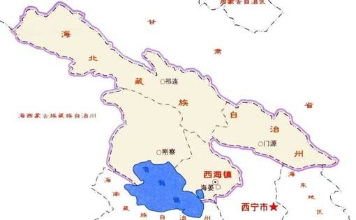 青海省海北州门源县_海北藏族自治州_360百科