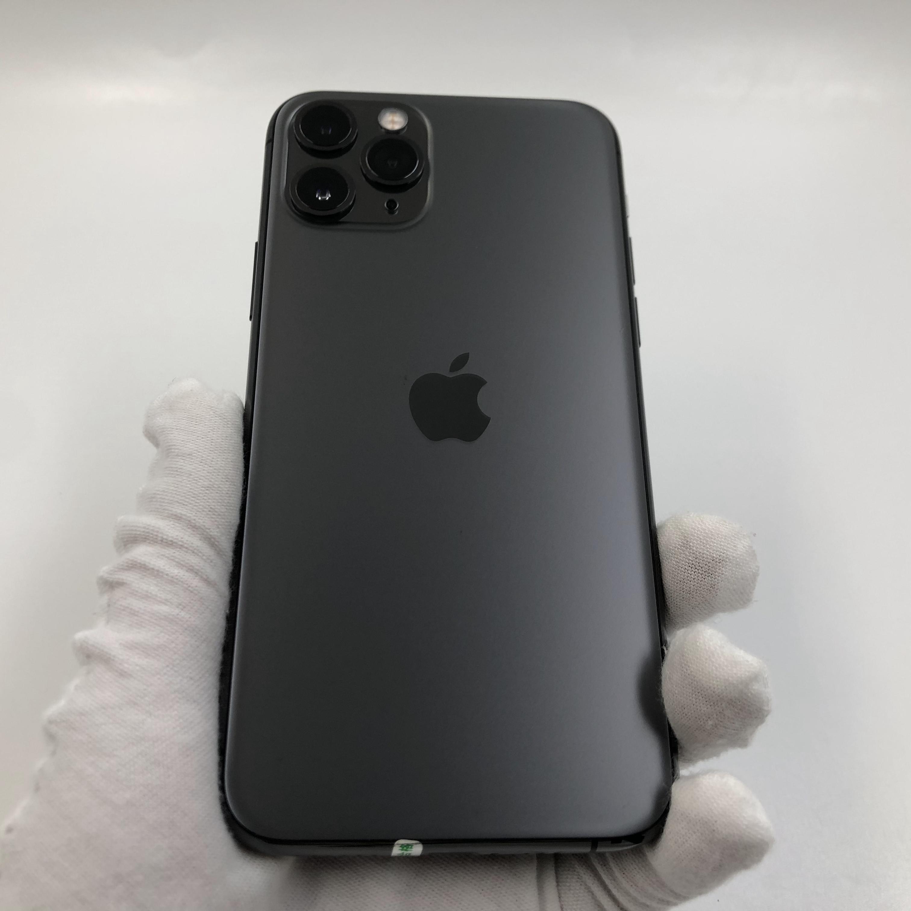 苹果【iPhone 11 Pro】4G全网通 深空灰 256G 国际版 9成新 真机实拍
