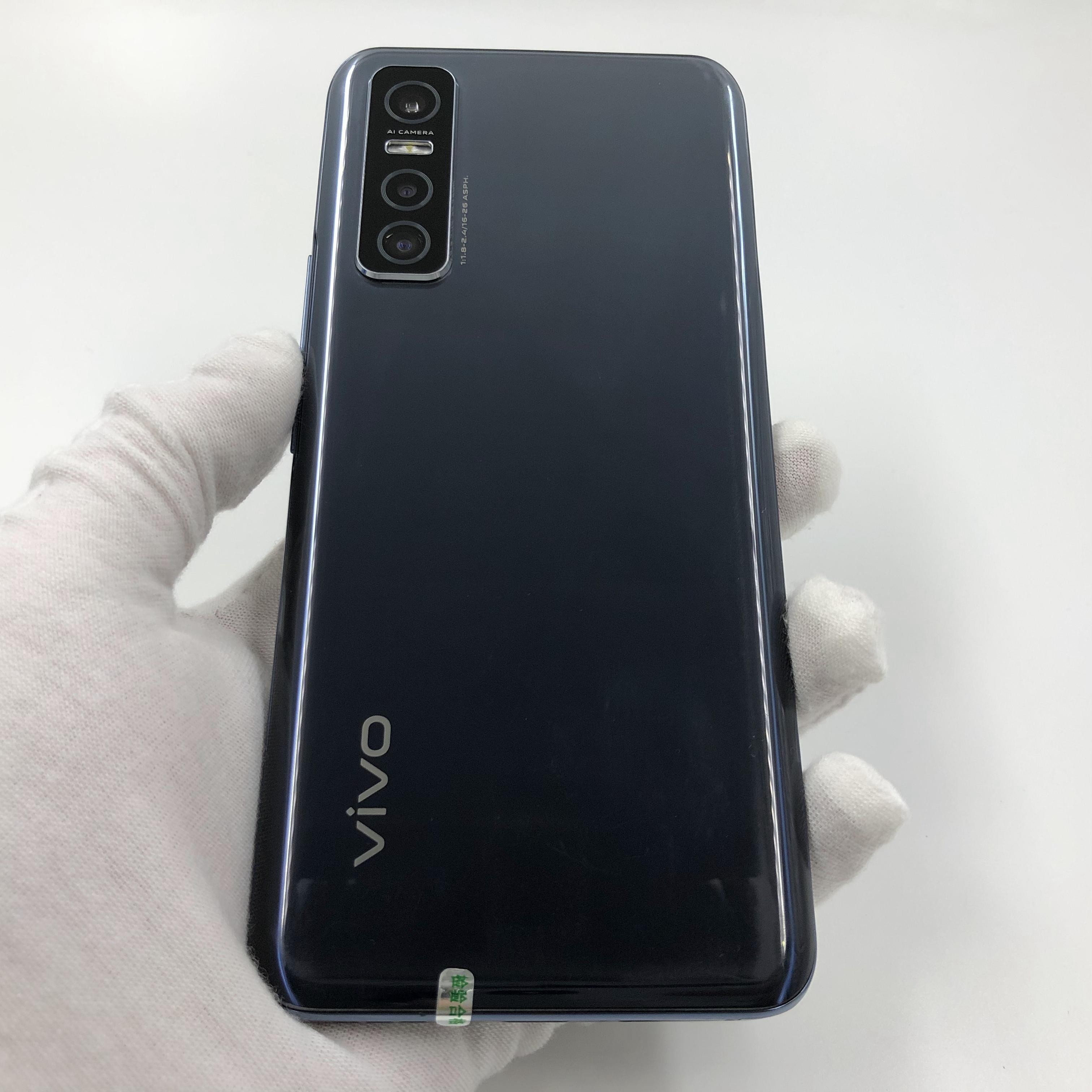 vivo【Y73s】5G全网通 黑镜 8G/128G 国行 8成新 真机实拍原包装盒+配件