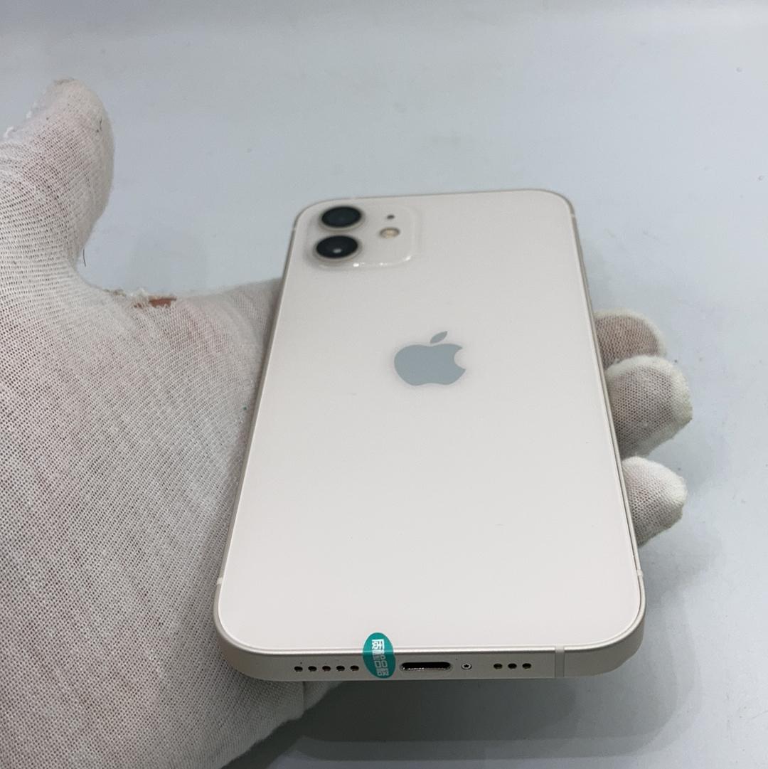 苹果【iPhone 12】5G全网通 白色 128G 国行 9成新