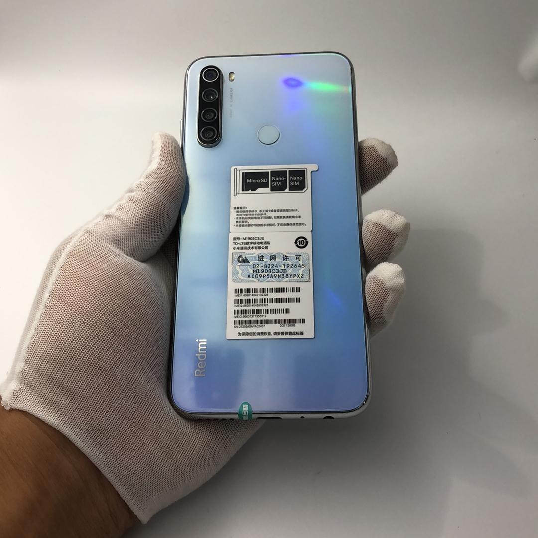小米【Redmi Note 8】4G全网通 白色 6G/128G 国行 9成新