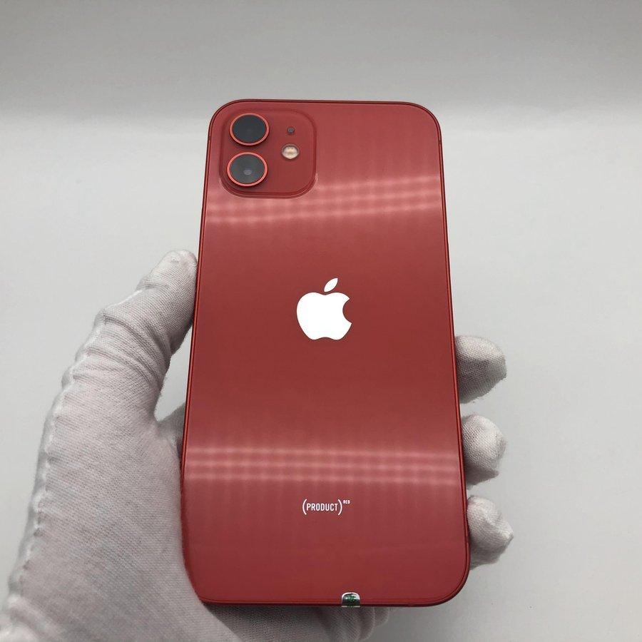 苹果【iPhone 12 mini】5G全网通 红色 64G 国行 95新