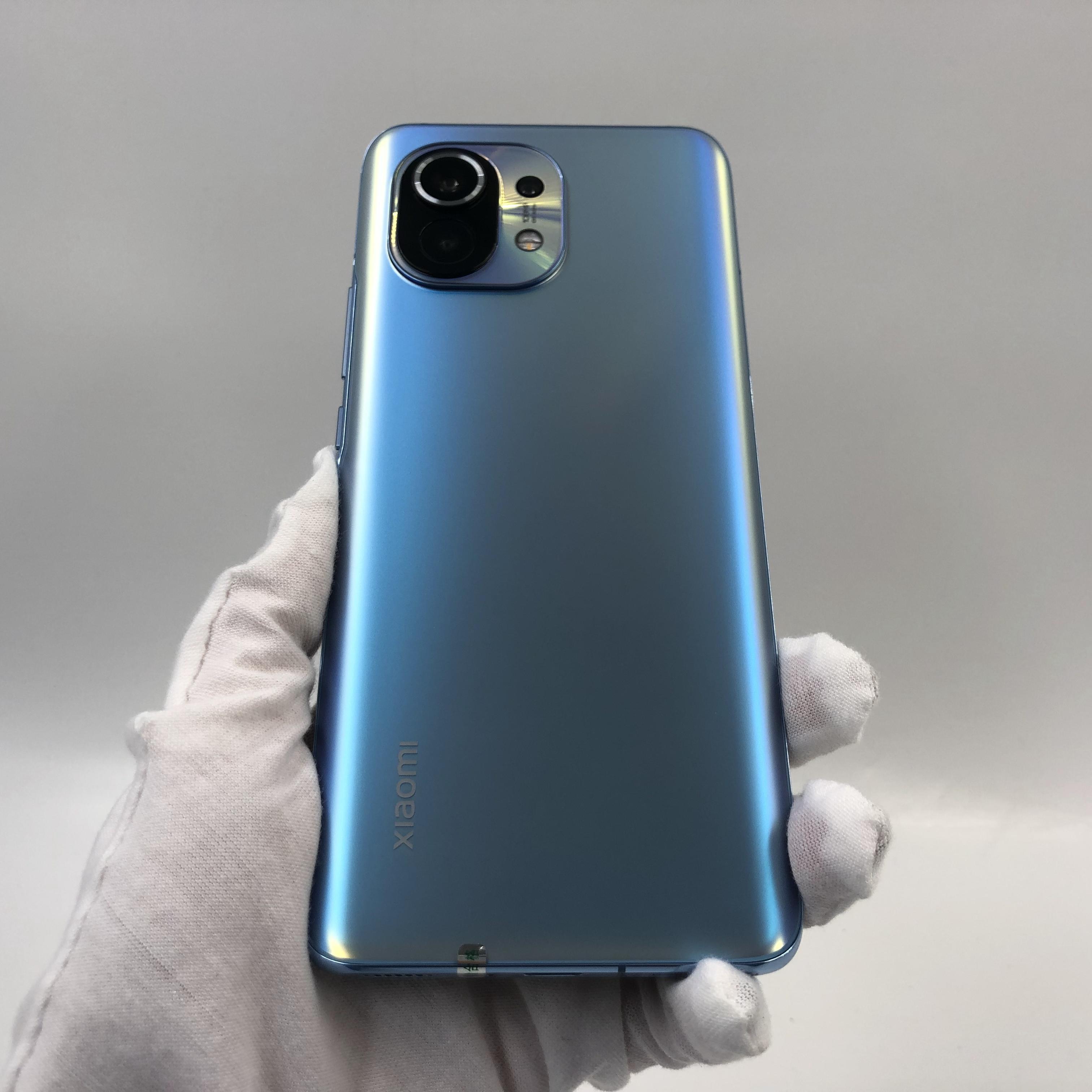 小米【小米11 5G】5G全网通 蓝色 8G/128G 国行 9成新 真机实拍