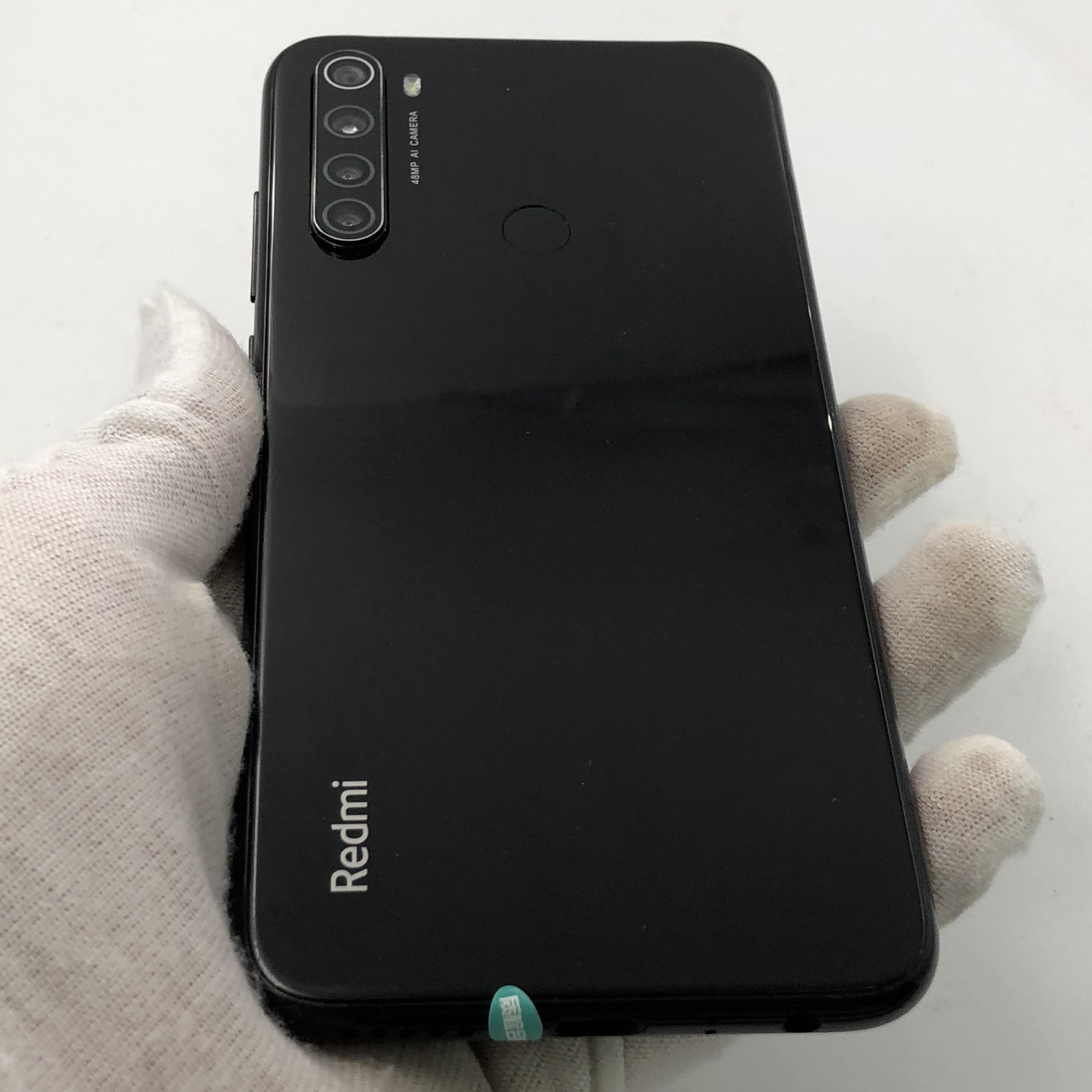 小米【Redmi Note 8】全网通 黑色 6G/64G 国行 8成新