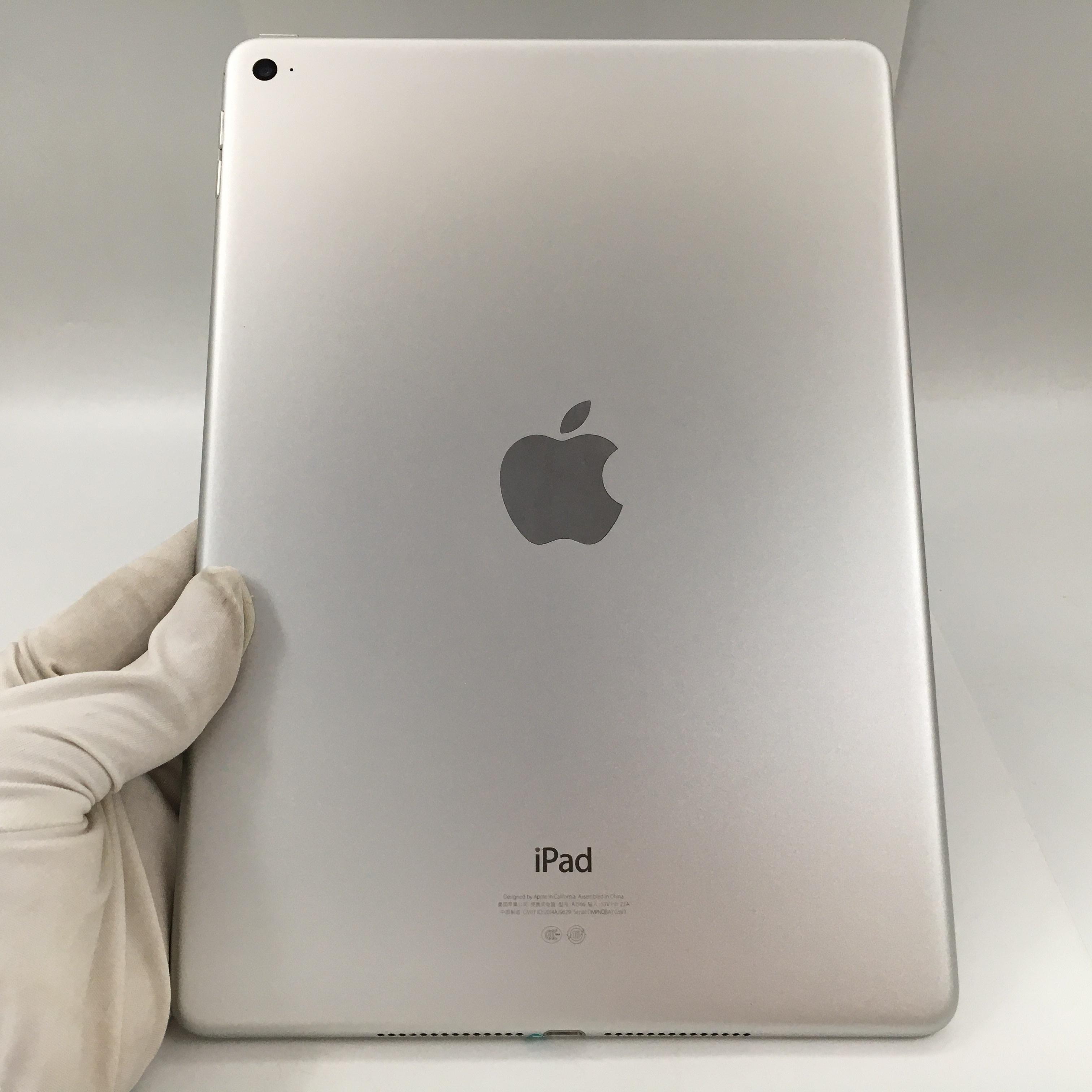 苹果【iPad Air 2】WIFI版 银色 16G 国行 95新
