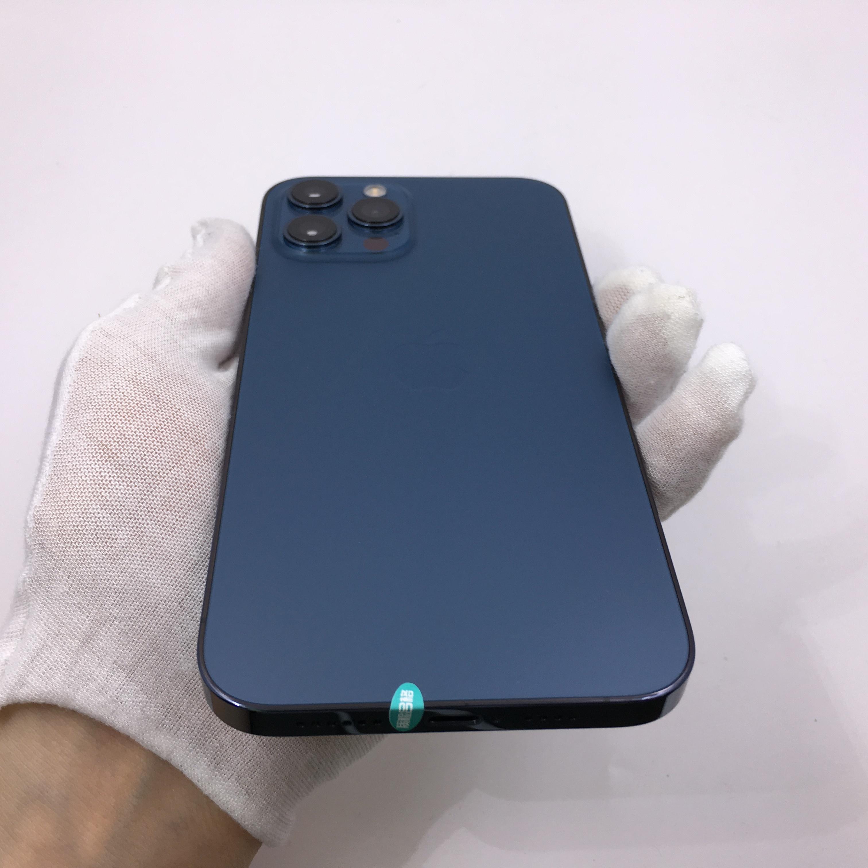 苹果【iPhone 12 Pro Max】5G全网通 海蓝色 128G 国行 99新