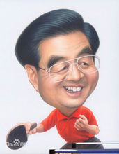 中国历代领导人漫画_新中国五代领导人漫画像_360百科