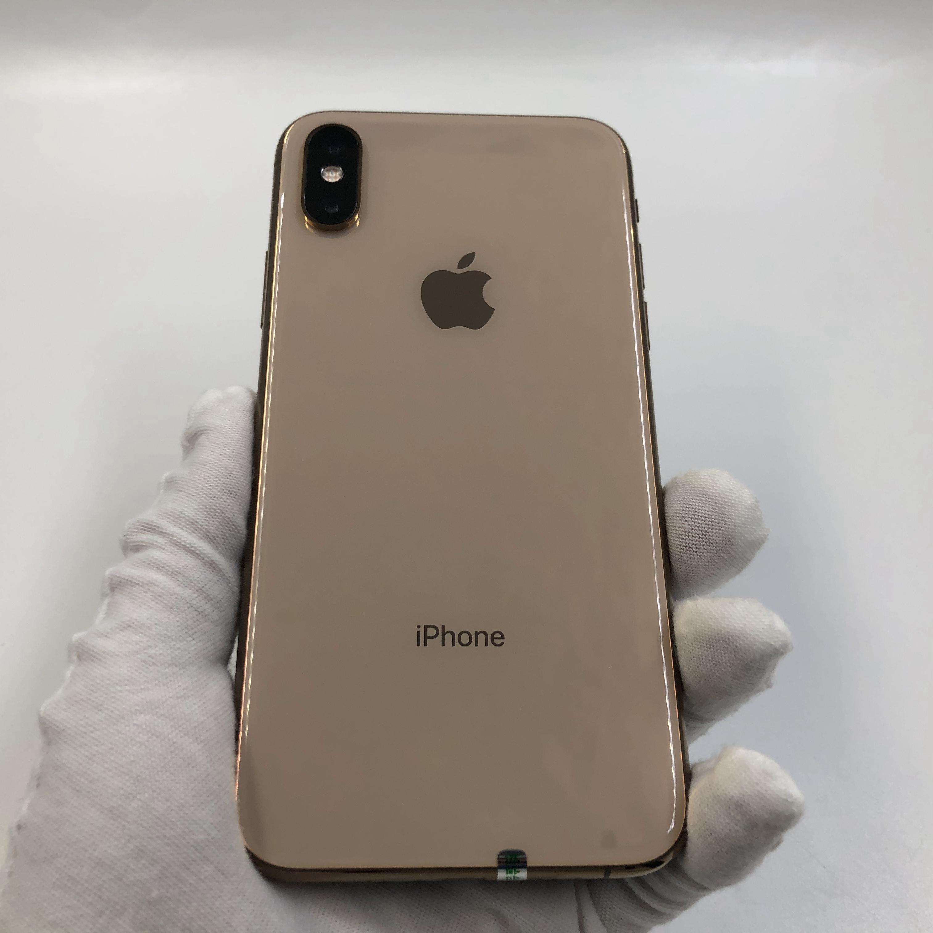 苹果【iPhone Xs】4G全网通 金色 256G 国行 95新 真机实拍